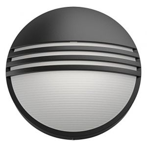 Philips Yarrow noir - Applique extérieur 6W 230V