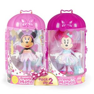 IMC Toys Pack de 2 Minnie Fashionistas