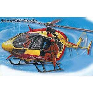 Heller Maquette Eurocopter EC 145 Sécurité Civile (80375) - Echelle 1:72