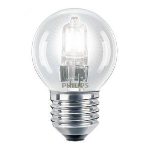 Philips 925647344202 - Ampoule Eco-Halogène Sphérique Culot E27 18 Watts consommés (Equivalence incandescence 23W)