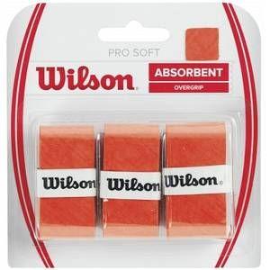 Wilson Racket Sport Pro Surgrip de tennis Orange
