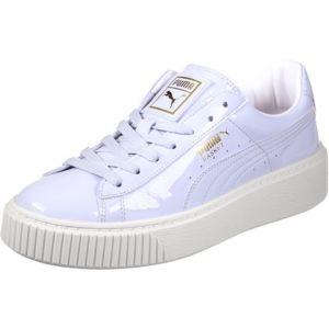 Puma Basket Platform Patent Wn's, Sneakers Basses Femme, Bleu (Halogen Blue-Halogen Blue), 36 EU