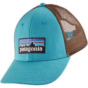 Patagonia P-6 Logo LoPro Trucker Hat Mako Blue Casquettes / chapeaux