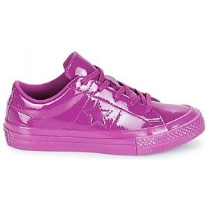 Converse Chaussures enfant ONE STAR SYNTHETIC OX violet - Taille 27,28,29,30,31,32,33,34,35