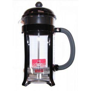 Bodum Cafetière à piston 8 tasses Chambord noire