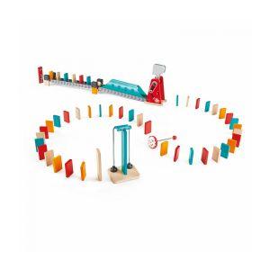 Hape Circuit de Dominos : Grand Marteau Orange