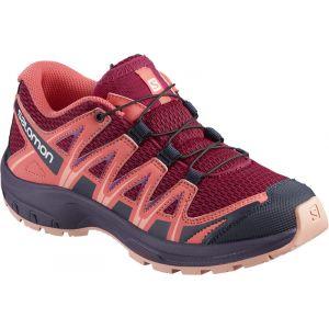 Salomon XA Pro 3D J, Chaussures de Trail Running, Mixte Enfant Rouge (Cerise)39 EU