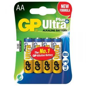 GP 4 piles alcalines AA/LR6 1.5 V Ultra Plus