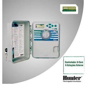 Hunter Xc-601-e Programmateur extérieur 6 stations 3 programmes X-CORE