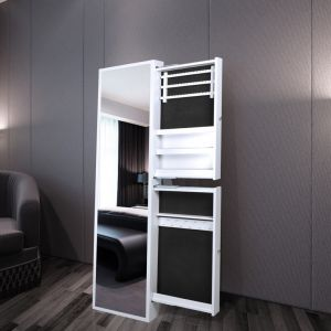 armoire bijoux miroir comparer 139 offres. Black Bedroom Furniture Sets. Home Design Ideas