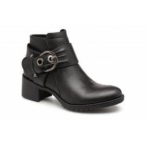 Les P'tites Bombes LAURINE - Bottines et boots Femme, Noir