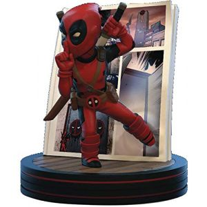 Quantum Mechanix Marvel Deadpool 4D Q-Fig Figure