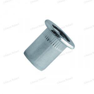 Scell-it TCD0430 - Ecrou aveugle cranté acier tête plate Ø 04-30