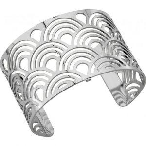 Les Georgettes Bracelet Poisson Argent Large