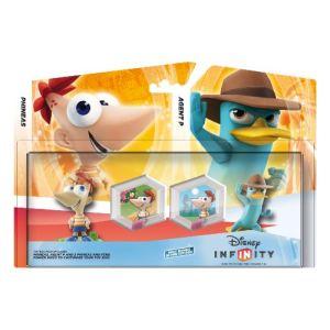 Disney Interactive Studios Disney Infinity Pack Toy Box : Phineas + Agent P + 2 Power Disc