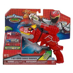Bandai Power Rangers Morpher T-Rex Dino Super Charge