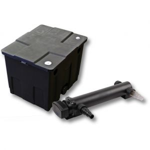 wiltec Kit de filtration de bassin 12000l 36W UVC 3. Stérilisateur