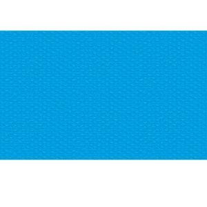 TecTake Bâche à bulles pour Piscine rectangulaire de protection extérieur en Plastique 2,6 m x 1,6 m Bleu