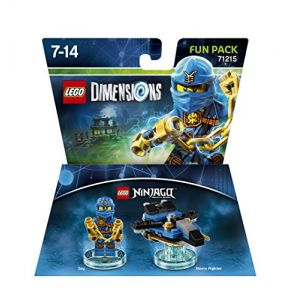 Warner Lego Dimensions Jay figurine Ninjago