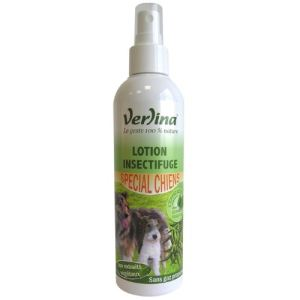 Verlina Lotion insectifuge spécial chiens