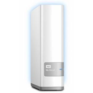 "Western Digital WDBCTL0040HWT - Disque dur externe My Cloud 4 To 3.5"" USB 3.0 Ethernet"