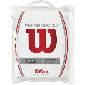 Wilson WRZ4006WH Set de 12 Sur grip Blanc