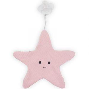 Jollein Doudou attache sucette étoile de mer Tiny waffle