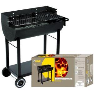 Cao 115430 Convivial - Barbecue à charbon sur chariot