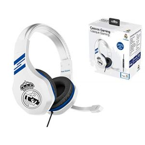 Casque Gaming Real Madrid avec micro pour PS4/Xbox One/PC