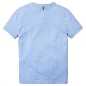 Tommy Hilfiger T-shirts Tommy-hilfiger Basic V Neck - Dark Allure Heather - 8
