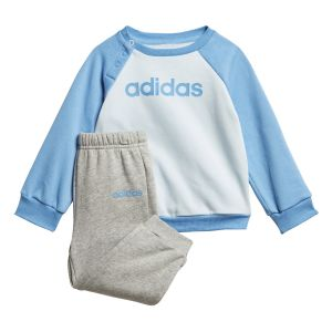 Adidas Survêtements Linear Jogger - Sky Tint / Lucky Blue / Medium Grey Heather - Taille 98 cm