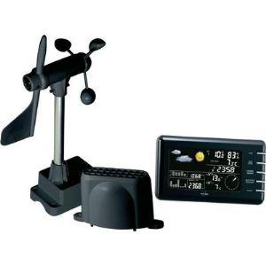 Inovalley SM55 Pro - Station météo radio pilotée et hygromètre pour température intérieure et extérieure