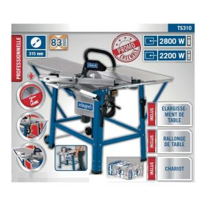 Scheppach Scie circulaire sur table 400V 2800W 315mm - TS310 - KITY