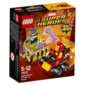 Lego 76072 - Marvel Super Heroes Mighty Micros : Iron Man contre Thanos