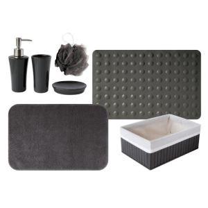 Gelco 4 accessoires pour salle de bain trendy 3 avec tad for Accessoire pour bain