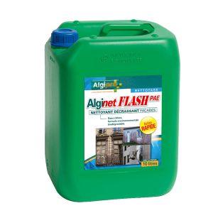 Algimouss Alginet flash prêt à l'emploi bidon de 10 litres - Nettoyant décrassant façade