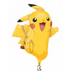 Ballon aluminium Pikachu Pokémon (62 x 78 cm)