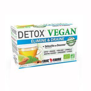 Eric favre Tisane Detox Vegan au citron 20 sachets
