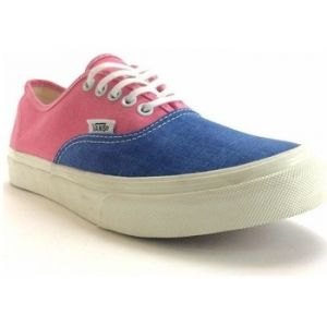 Vans Baskets Authentic Slim Rose Bleu Femme