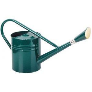 Esschert design Arrosoir en métal vert 7,5 L