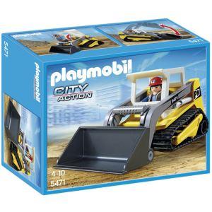 Playmobil 5471 City Action - Chargeuse à chaînes avec pelle