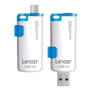 Lexar LJDM20-64GBBEU - Clé USB 3.0 Jumpdrive M20 Mobile 64 Go