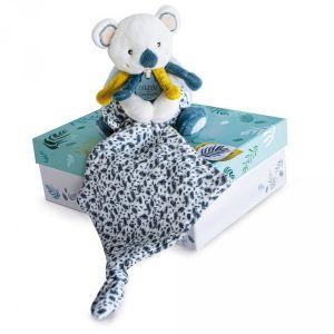 Doudou et Compagnie Peluche bébé pantin avec doudou yoca le koala