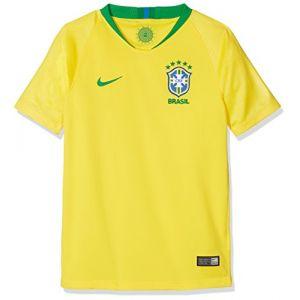 Nike Maillot de football 2018 Brasil CBF Stadium Home pour Enfant plus âgé - Or - Taille XL - Unisex