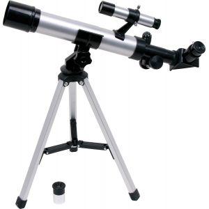 Telescope pour enfants sur trepied Avec gyrocompas et lunette dirigee