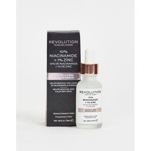 Revolution Skincare London Sérum minimiseur de pores - 10% Niacinamide + 1% Zinc - 30 ml
