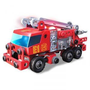 Meccano 6028420 - Camion de pompiers Junior 163 pièces