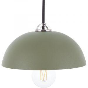 Beliani Lampe suspension vert ESERA