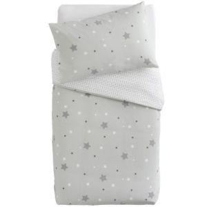 Doux nid Parure de lit Little Stars étoiles (100 x 140 cm)