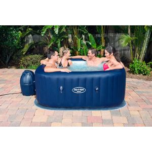Bestway Spa gonflable Hawaii Air Jet - carré - 6 places